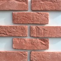 Brick Slip Facades - Brick Facades - Red Brick Effect Cladding - Brick Cladding UK