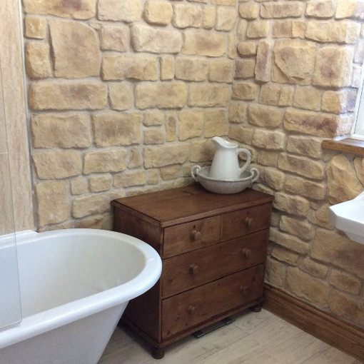 Sandstone Cladding Get A Natural Stone Wall Look