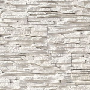Chalk Tile Panels A Trending White Stone Wall Look
