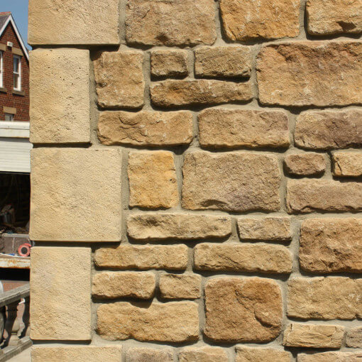 Corner quoins premium quality cladding higgins the for Brick quoin corners
