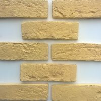 Yellow Brickslips - London Yellow - London Yellow Corner Pistols - Reclaimed Effect Brick Slips