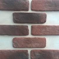 exterior brick cladding UK - Exterior Brick Cladding - Red Brick Slips UK - Rustic Brick Slips