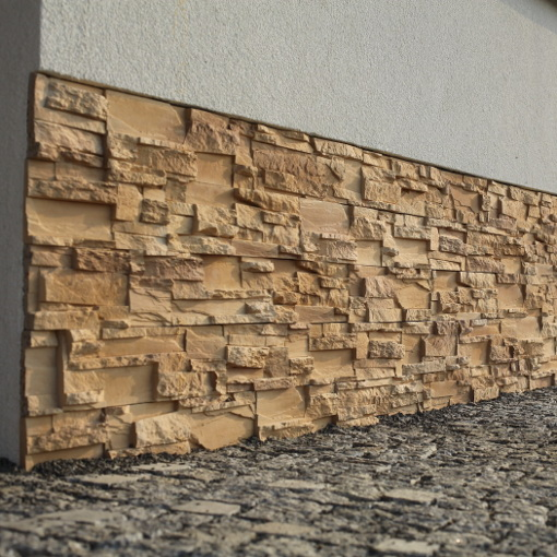 Random Stack Wall Panels - Random Face Wall Panels - External Stone Cladding