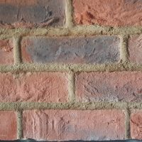 brick effect slips - thin brick cladding - modern brick slips - brick tiles