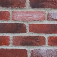 Red Fusion Cast Brick Slips