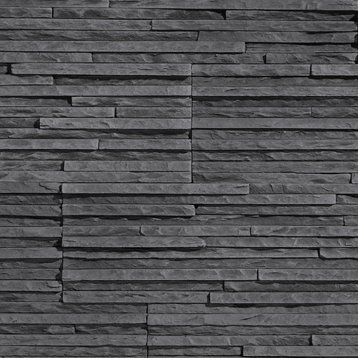 Splitface Stone Cladding Get A Graphite Stone Wall Look