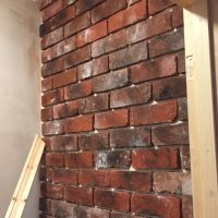 Brick Front Cladding - Wall Veneers - Brickslips UK - Faux Brick Slips