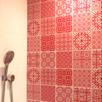 Tile Hygiene Panels - Shower Tile Panels - Kitchen Splashback Tile Panels - Thin Hygiene Tile Panels