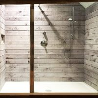 Wood Effect Shower Panels - Wall Splash Cladding - Wall Hygiene Cladding