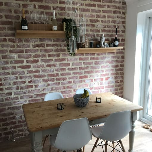 Brick Slip Facings Get A Stunning Brick Wall Designer Look