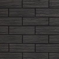 Black Brick Slips - Black Brick Cladding