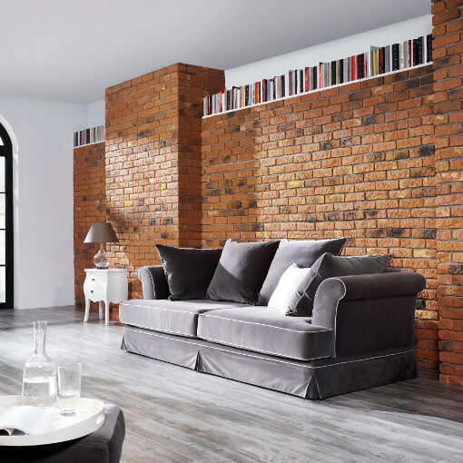Brick Tile Cladding Get The Brick Feature Wall Look