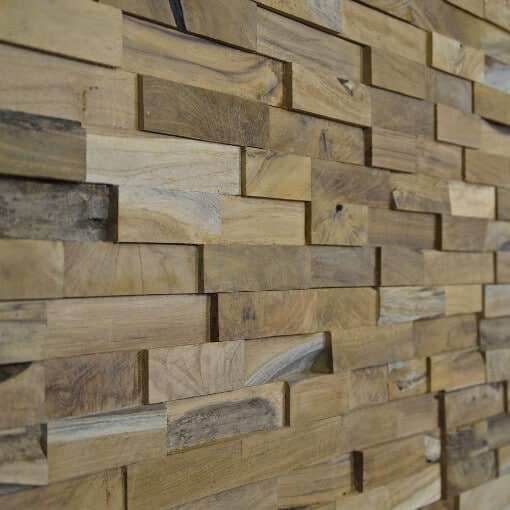 Wooden Cladding Natural Wood Splitface Wall Panels Uk Wide