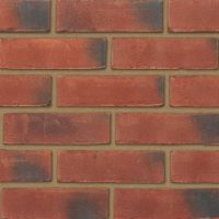 Multi Red Weathered Brickslips