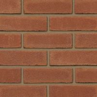 Plain Red Brick Slips