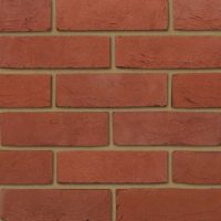 Plain Red Brick Tiles