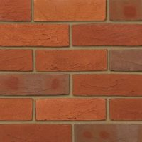 Mixed Red Brick Veneers