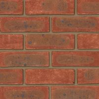 Mixed Red Brick Facings