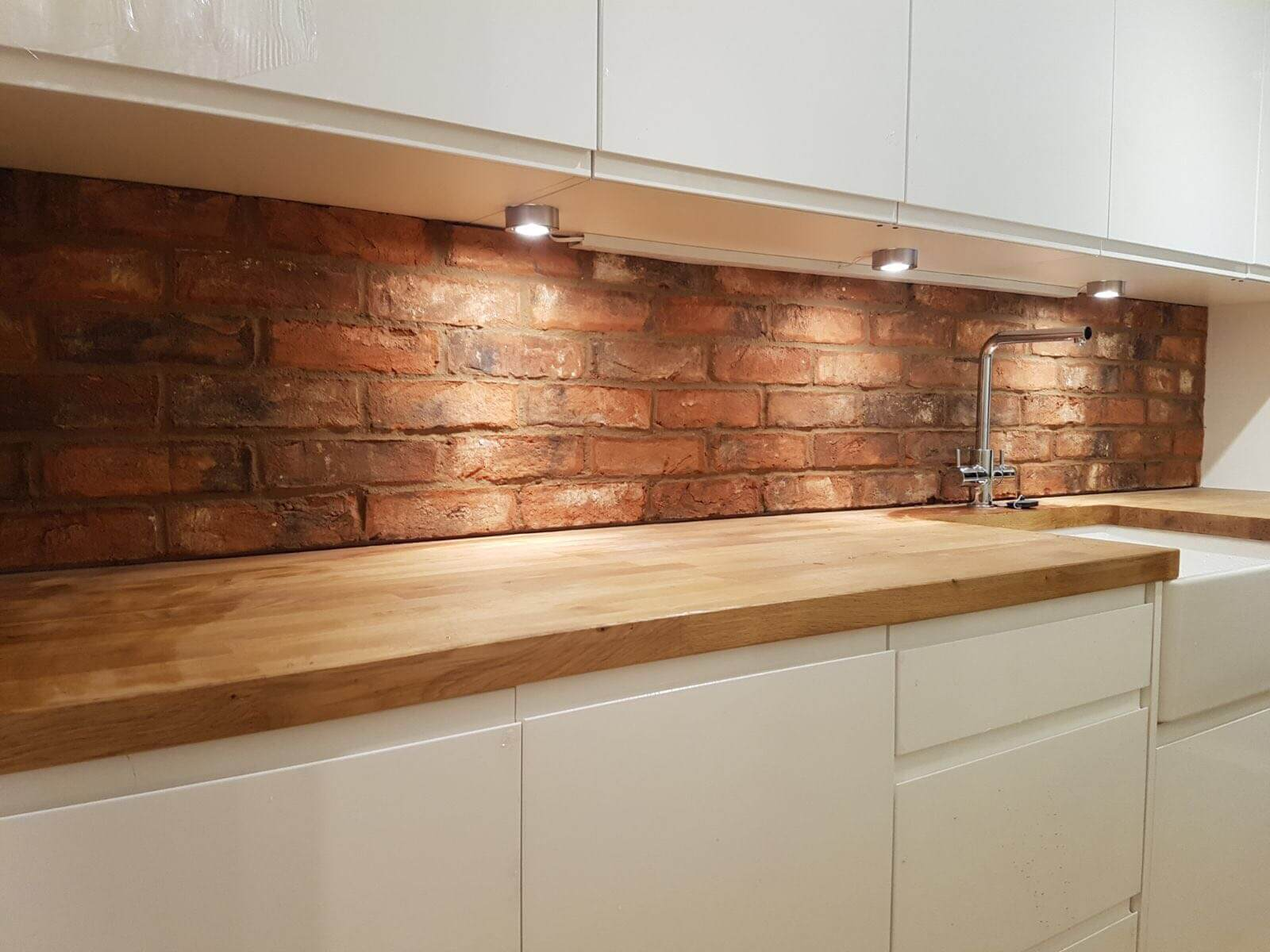 Brick Slip Feature Walls