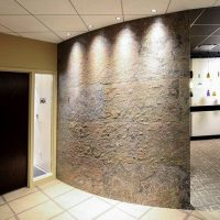 sliced stone panels