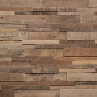 Feature Wall Wood Panels - Antique Plain