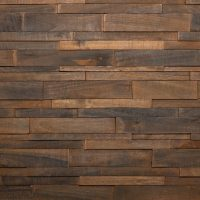 Feature Wall Wood Panels - Charcoal Plain