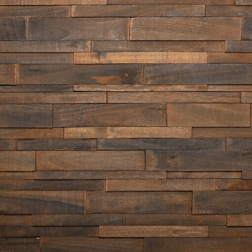 3D Timber Wall Panels - Wooden Cladding Panels - 3D wooden wall cladding
