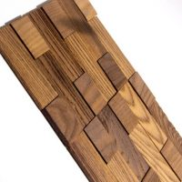 Split Face Wood Tiles - Split Face Timber Tiles - 3D Timber Tiles