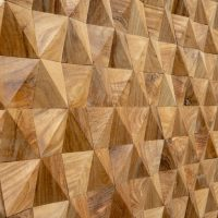 Geometric Timber Panels - Geometric Wooden Tiles - Geometric Timber Tiles
