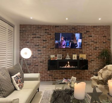 Brick Slip Feature Wall